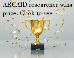 Prize for ARCAID researcher