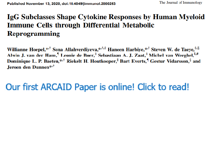 First paper!